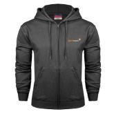 Charcoal Fleece Full Zip Hood-