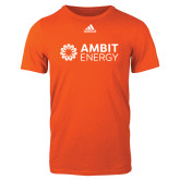 Adidas Orange Logo T Shirt-Ambit Energy