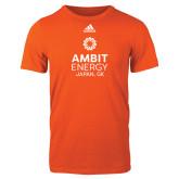 Adidas Orange Logo T Shirt-Ambit Energy Japan