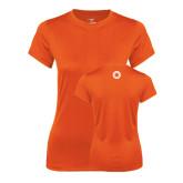 Ladies Syntrel Performance Orange Tee-Spark