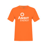 Youth Neon Orange T Shirt-