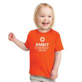 Toddler Orange T Shirt-Ambit Energy Canada