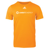 Adidas Gold Logo T Shirt-Ambit Energy