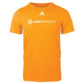 Adidas Gold Logo T Shirt-Ambit Energy