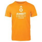Adidas Gold Logo T Shirt-Ambit Energy Canada