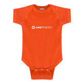 Orange Infant Onesie-Ambit Energy