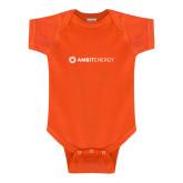 Orange Infant Onesie-Ambit Energy