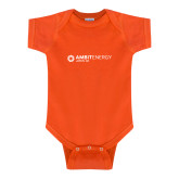 Orange Infant Onesie-Ambit Energy Japan