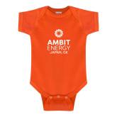 Orange Infant Onesie-Ambit Energy Japan