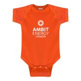 Orange Infant Onesie-Ambit Energy Canada