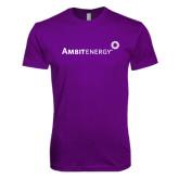 Next Level SoftStyle Purple T Shirt-
