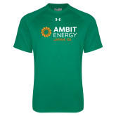 Under Armour Kelly Green Tech Tee-Ambit Energy Japan