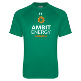 Under Armour Kelly Green Tech Tee-Ambit Energy Canada