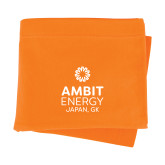 Orange Sweatshirt Blanket-Ambit Energy Japan
