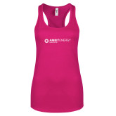 Next Level Ladies Raspberry Ideal Racerback Tank-Ambit Energy Japan