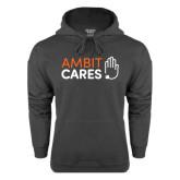 Charcoal Fleece Hood-Ambit Cares