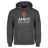Charcoal Fleece Hoodie-Ambit Energy Canada