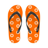Ladies Full Color Flip Flops-Spark
