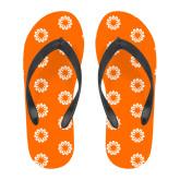 Full Color Flip Flops-Spark