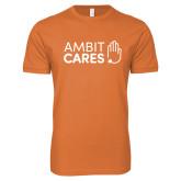 Youth Ambit Cares Orange Tee-