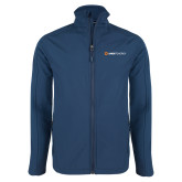 Navy Softshell Jacket-Ambit Energy