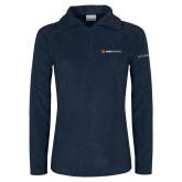 Columbia Ladies Half Zip Navy Fleece Jacket-Ambit Energy