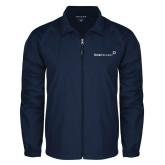 Full Zip Navy Wind Jacket-