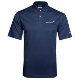 Nike Dri Fit Navy Pebble Texture Sport Shirt-