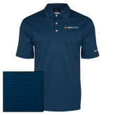 Nike Dri Fit Navy Pebble Texture Sport Shirt-Ambit Energy
