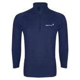 Sport Wick Stretch Navy 1/2 Zip Pullover-