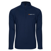 Sport Wick Stretch Navy 1/2 Zip Pullover-Ambit Energy