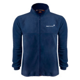 Fleece Full Zip Navy Jacket-