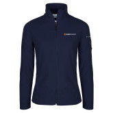 Columbia Ladies Full Zip Navy Fleece Jacket-Ambit Energy