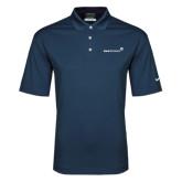 Nike Golf Dri Fit Navy Micro Pique Polo-