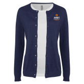 Ladies Navy Cardigan-Ambit Energy Canada