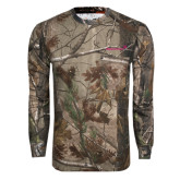 Realtree Camo Long Sleeve T Shirt w/Pocket-