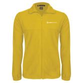 Fleece Full Zip Gold Jacket-Ambit Energy