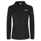 Columbia Ladies Half Zip Black Fleece Jacket-Ambit Energy Japan