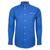 Mens Royal Oxford Long Sleeve Shirt-Ambit Energy
