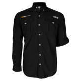 Columbia Bahama II Black Long Sleeve Shirt-Ambit Energy Japan