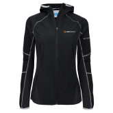 Columbia Ladies Sweet As Black Hooded Jacket-Ambit Energy