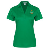 Ladies Kelly Green Performance Fine Jacquard Polo-Ambit Energy Canada