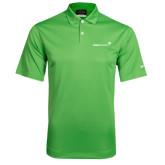 Nike Dri Fit Vibrant Green Pebble Texture Sport Shirt-