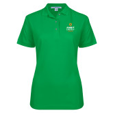 Ladies Easycare Kelly Green Pique Polo-Ambit Energy Canada