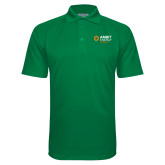 Kelly Green Textured Saddle Shoulder Polo-Ambit Energy Japan