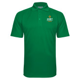 Kelly Green Textured Saddle Shoulder Polo-Ambit Energy Canada