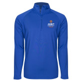 Sport Wick Stretch Royal 1/2 Zip Pullover-Ambit Energy Canada