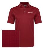 Callaway Red Jacquard Polo-