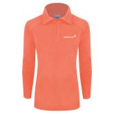 Columbia Ladies Half Zip Coral Fleece Jacket-