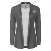 Ladies Heather Grey Open Front Cardigan-Ambit Energy Canada